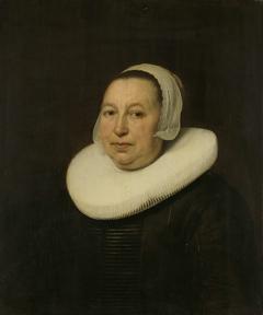Portrait of Maria Pietersdr de Leest, Wife of Samuel van Lansbergen