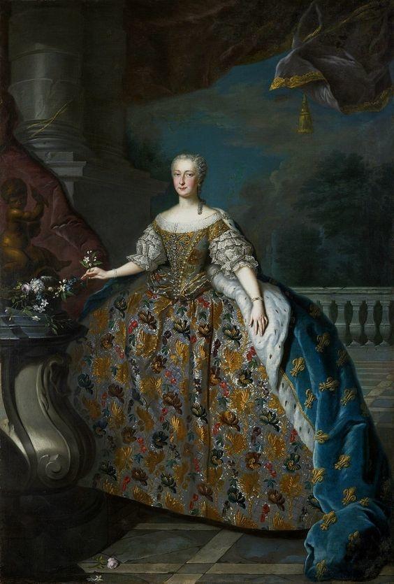 Portrait of Maria Teresa of Spain