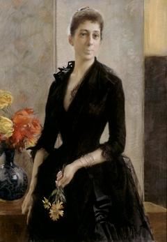 Portrait of Mme Weissgerber de Stragewicz, later Mme R. Berenger