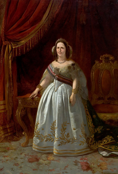 Portrait of Teresa Cristina of the Two Sicilies