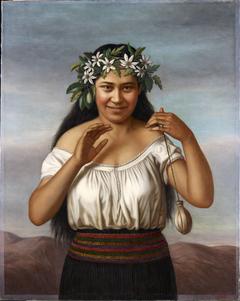 Portrait of Terewai Horomona (b.1866)