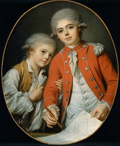 Portrait of Two Boys (said to be the Autichamp Brothers)