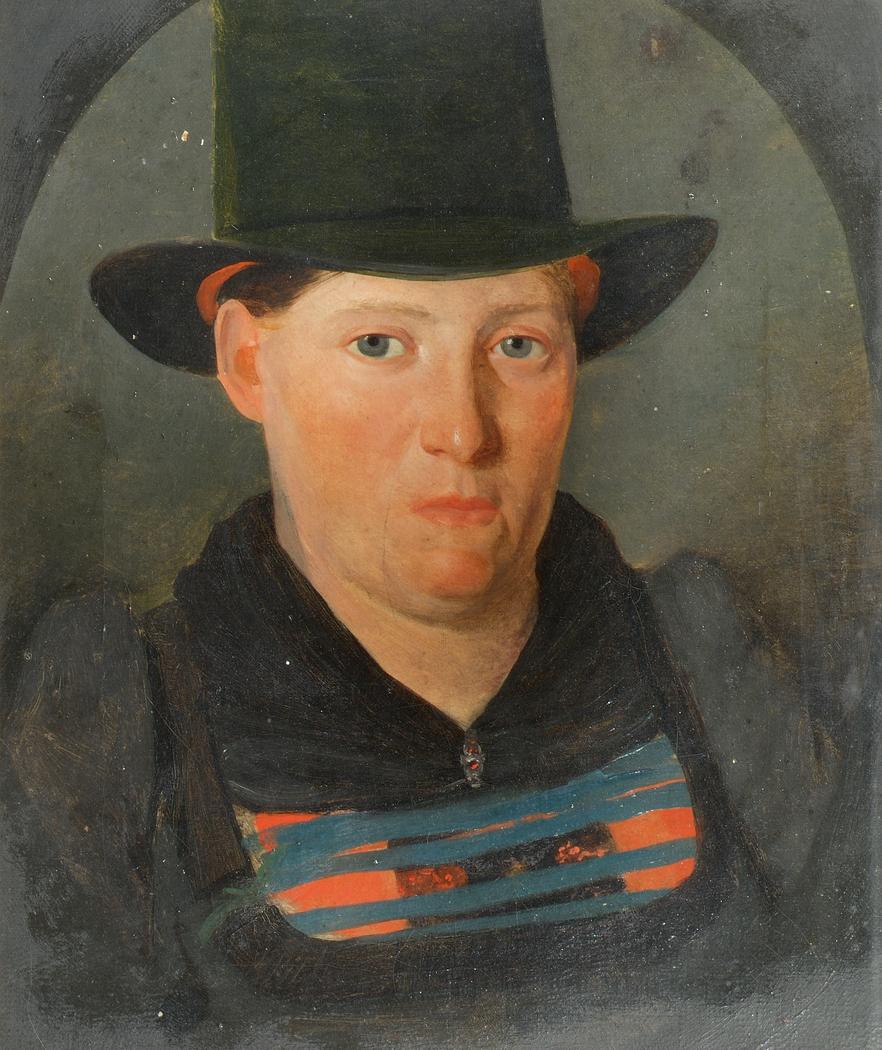 Porträt einer Bäuerin