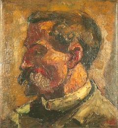 Portret van Christian Leibbrandt