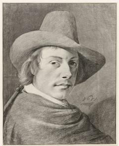 Portret van de schilder Vincent Laurensz. van der Vinne