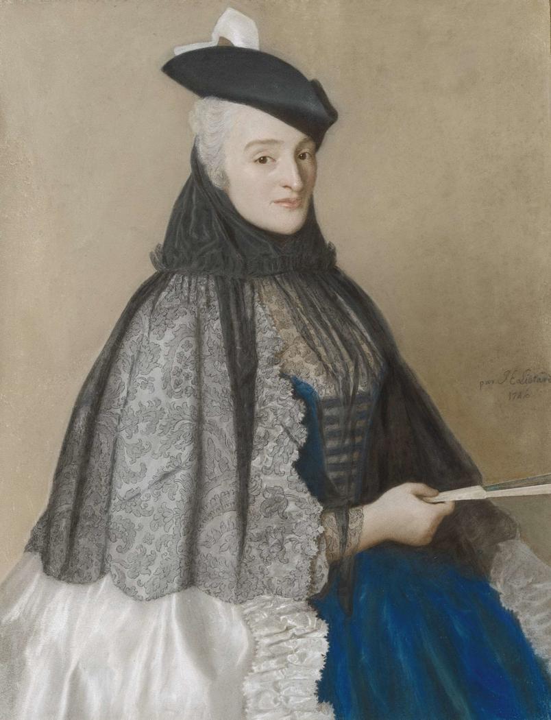 Portret van Mme Boère