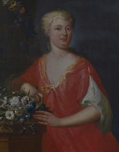 Portret van Sarah Bosch (1707-?)