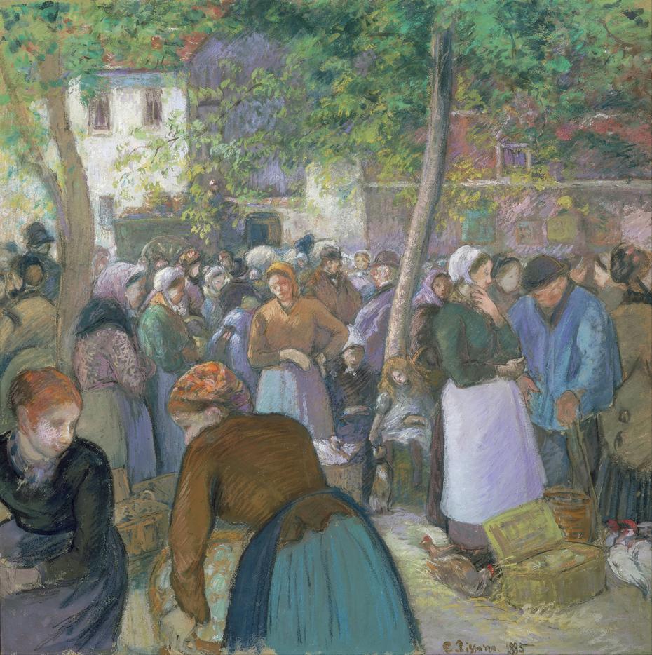 Poultry Market at Gisors