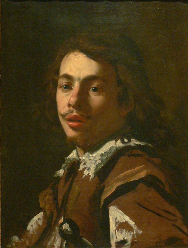 Presumed portrait of Aubin Vouet, The Artist's Brother