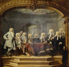 Regents of the Aalmoezeniersweeshuis Orphanage in Amsterdam, 1729