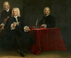 Regents of the Leper house in Amsterdam