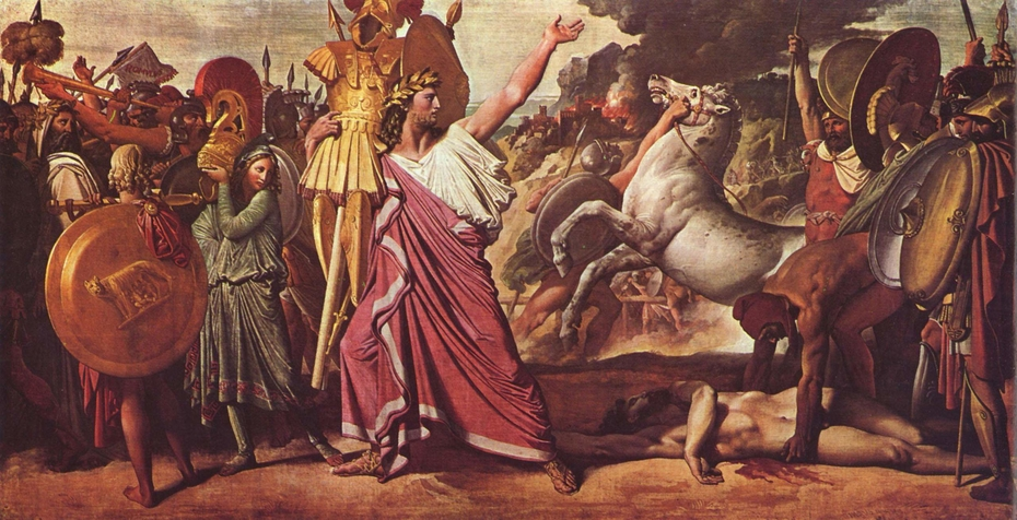 Romulus' Victory Over Acron