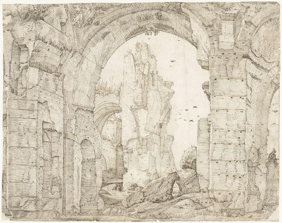 Ruïnes van de thermen van Caracalla, Rome