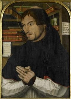 Saint Dionysius the Areopagite in Prayer