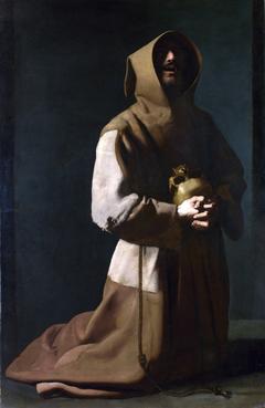 Saint Francis in Meditation