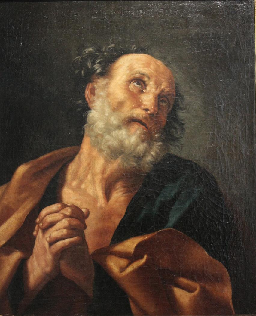 Saint Pierre pleurant son reniement