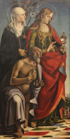 Saints Eustachia, Mary Magdalene and Saint Jerome
