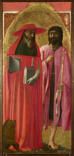 Saints Jerome and John the Baptist
