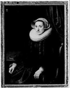Sara Bosschaert (1561-1627). Echtgenote van Arent van der Graeff