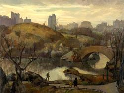 Scene in Central Park
