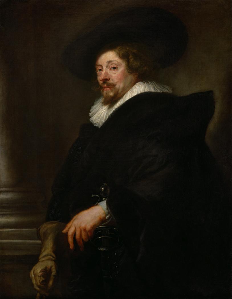 Self-portrait (Rubens, 1638-1639)