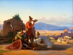 Shepherds in the Roman Campagna