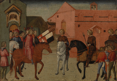 Sienese Government Officials Receiving an Embassy