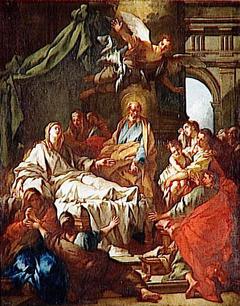 St. Peter Resurrects Tabitha