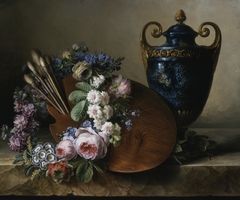 Still Life, an Homage to Van Spaendonck