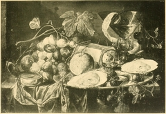 Still-Life with Oysters, Wine and Grapes