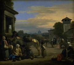 Street Scene in Rome
