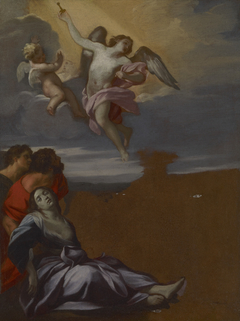 Study for the altarpiece of Saint Rosalie among thePlague-Stricken