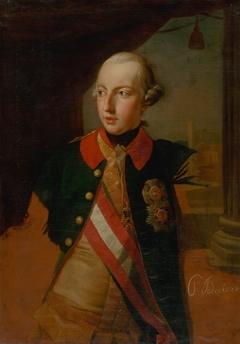 Study for the Portrait of Emperor Joseph II.