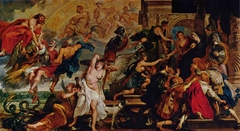 The Apotheosis of Henri IV and the Proclamation of the Regency of Marie de Médicis