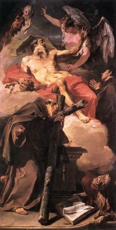 The Apotheosis of Saint Jerome with Saint Peter of Alcántara and Antonino da Patti