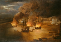 The Attack on Shipping in Tripoli, 24th January 1676