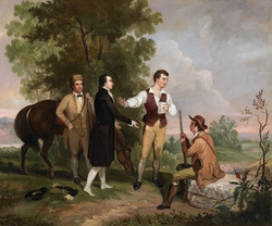 The Capture of Major André