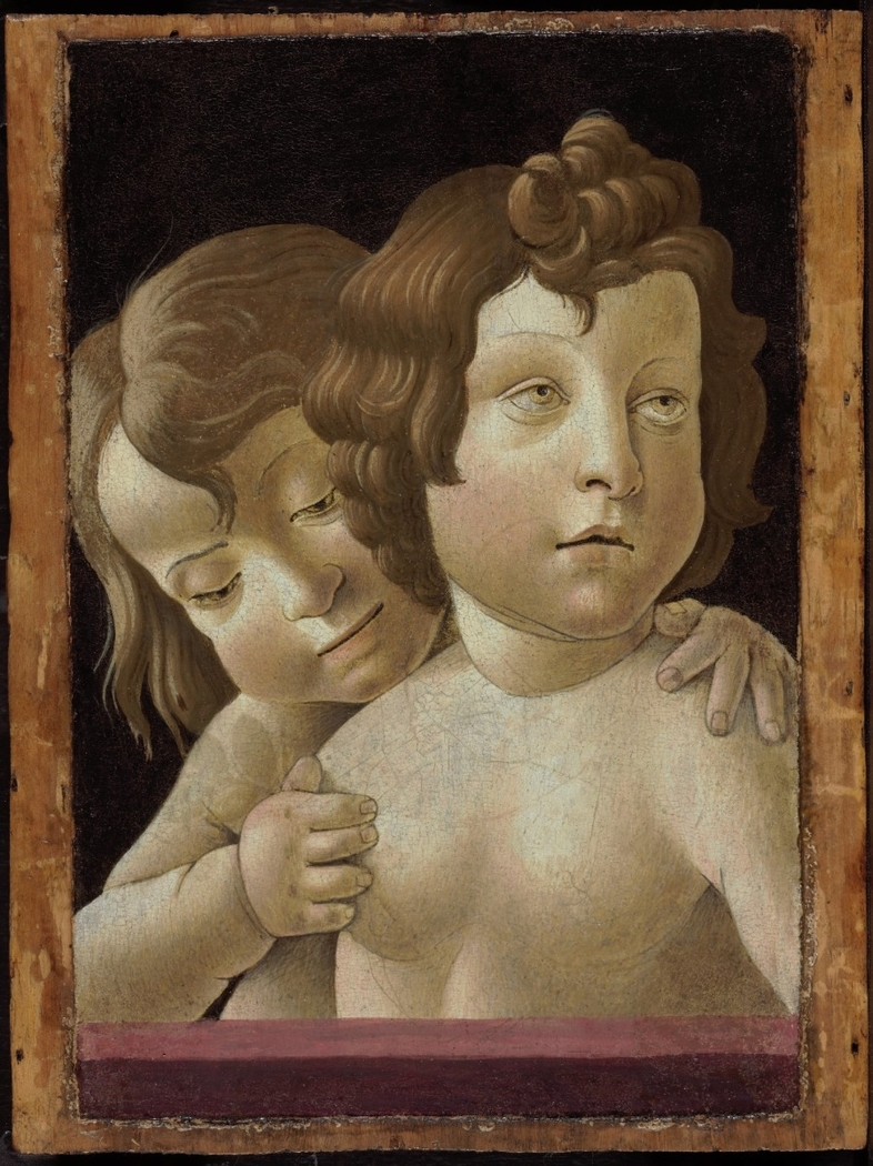 The Christ Child and the Infant John the Baptist