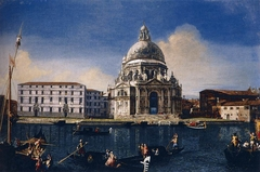 The Grand Canal with Santa Maria della Salute