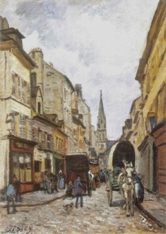 The Grand-Rue in Argenteuil