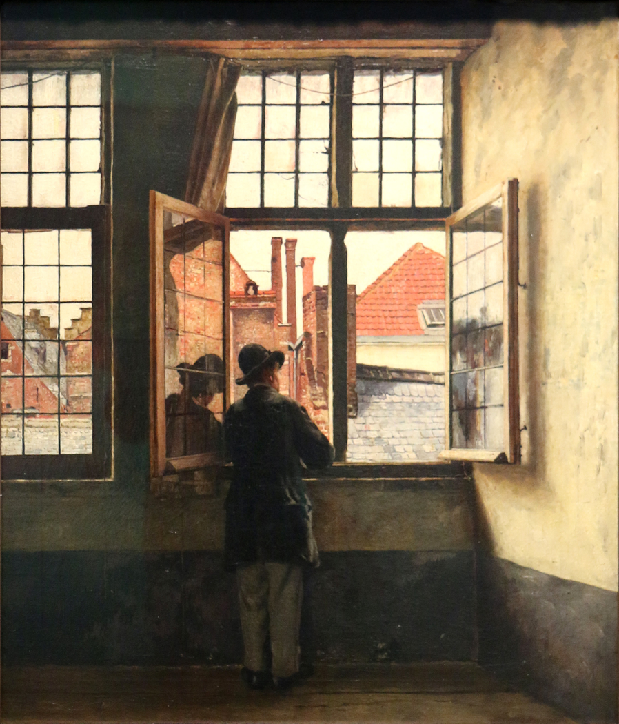 The man at the window