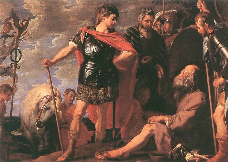 The Meeting of Alexander the Great and Diogenes