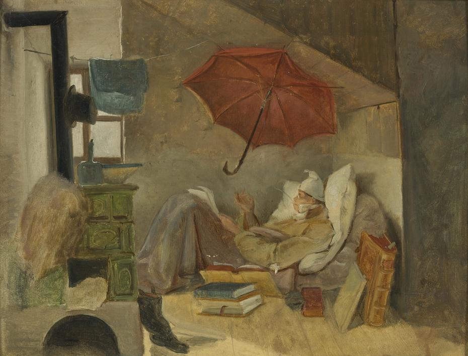 The poor poet (sketch)