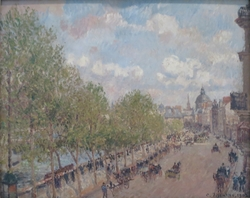 The Quai Malaquais and the Institute, Spring, Sunlight (Fourth Series)