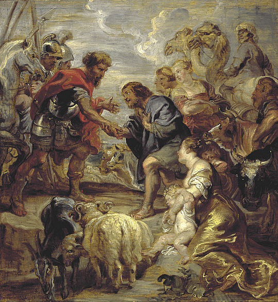 The Reconciliation of Jacob and Esau