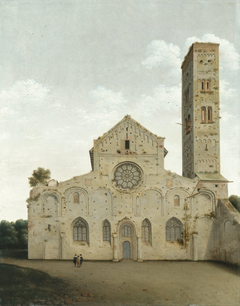 The West Façade of the Church of Saint Mary in Utrecht