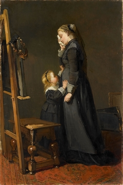 The Widow of a Painter