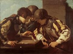 Three Backgammon Players