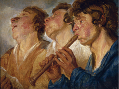 Three Itinerant Musicians