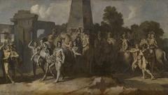 Triumphzug Alexanders des Großen: Streitrösser und Feldherrn des Alexander (Folge 9/12)